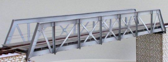 5411 KB model - Small steel bridge, kit laser-cut